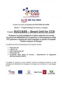 Progetto SUCC&SS – Smart Unit for CCS
